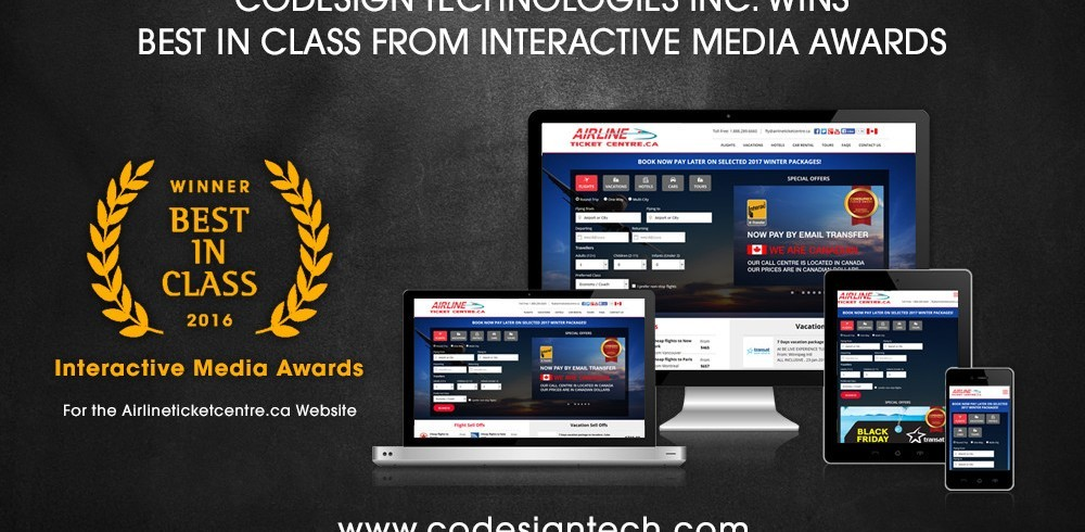 award winning webdesign