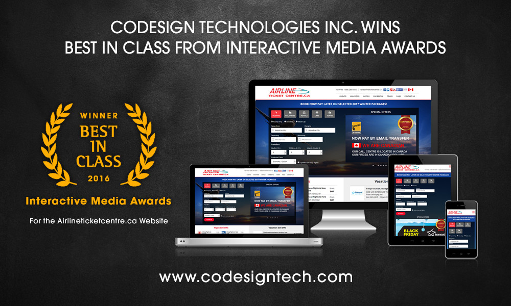 award winning webdesign